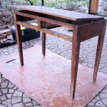 Chestnut desk restoration