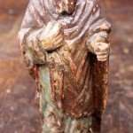 Statue Saint Spanish Colonies South America restoration