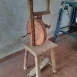 Antique spinning restoration