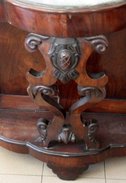 Consola Luigi Filippo en palisandro