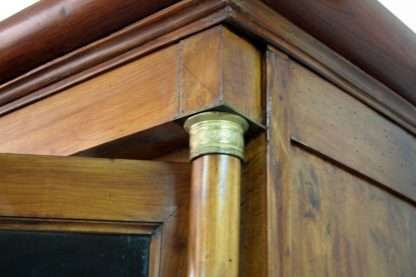 Librería Empire en madera de cerezo